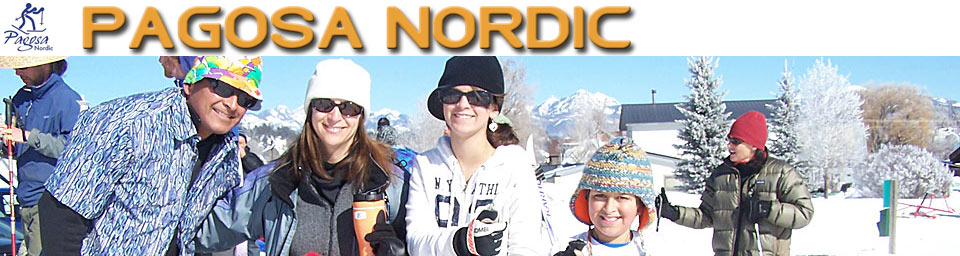 Pagosa Springs Nordic Club happy skiers