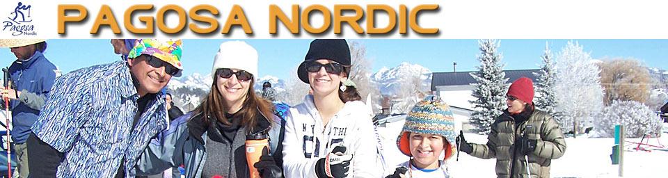 Pagosa Springs Nordic Club happy skiers