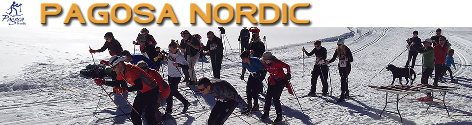 Pagosa Springs Nordic Club cross ski race